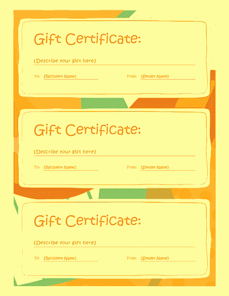 Gift Certificate Template Microsoft Word Fresh Gift Certificate Template Word 2013 Free Certificate