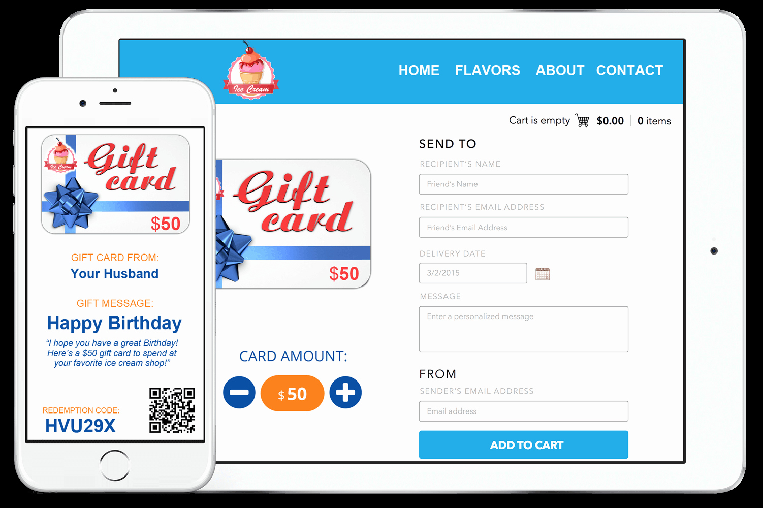 Gift Certificates for Small Business Awesome Gift Cards for Small Business