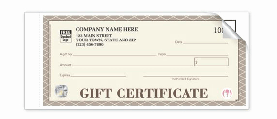 Gift Certificates for Small Business Elegant Best Business Gift Card Certificate Designs Free Download