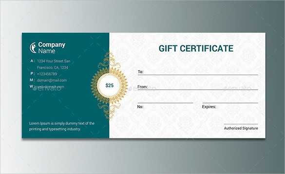 Gift Certificates for Small Business Inspirational Small Business Gift Certificates