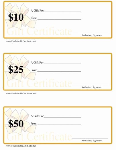 Gift Certificates for Small Business Luxury This Set Of Three Printable T Certificates are Ideal