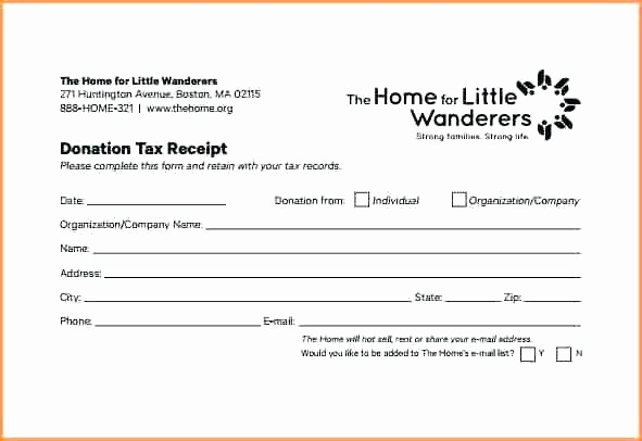 Gift In Kind Receipt Template Lovely In Kind Donation Receipt form Template Church Word Free