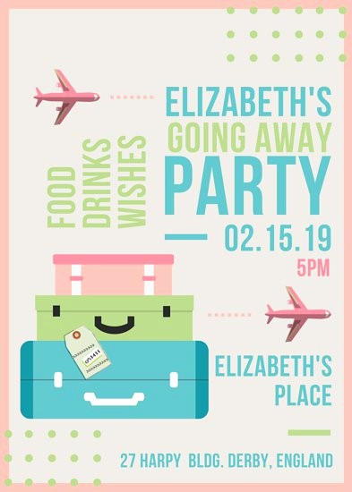 Going Away Flyer Template Free Awesome Going Away Party Flyer Templates by Canva