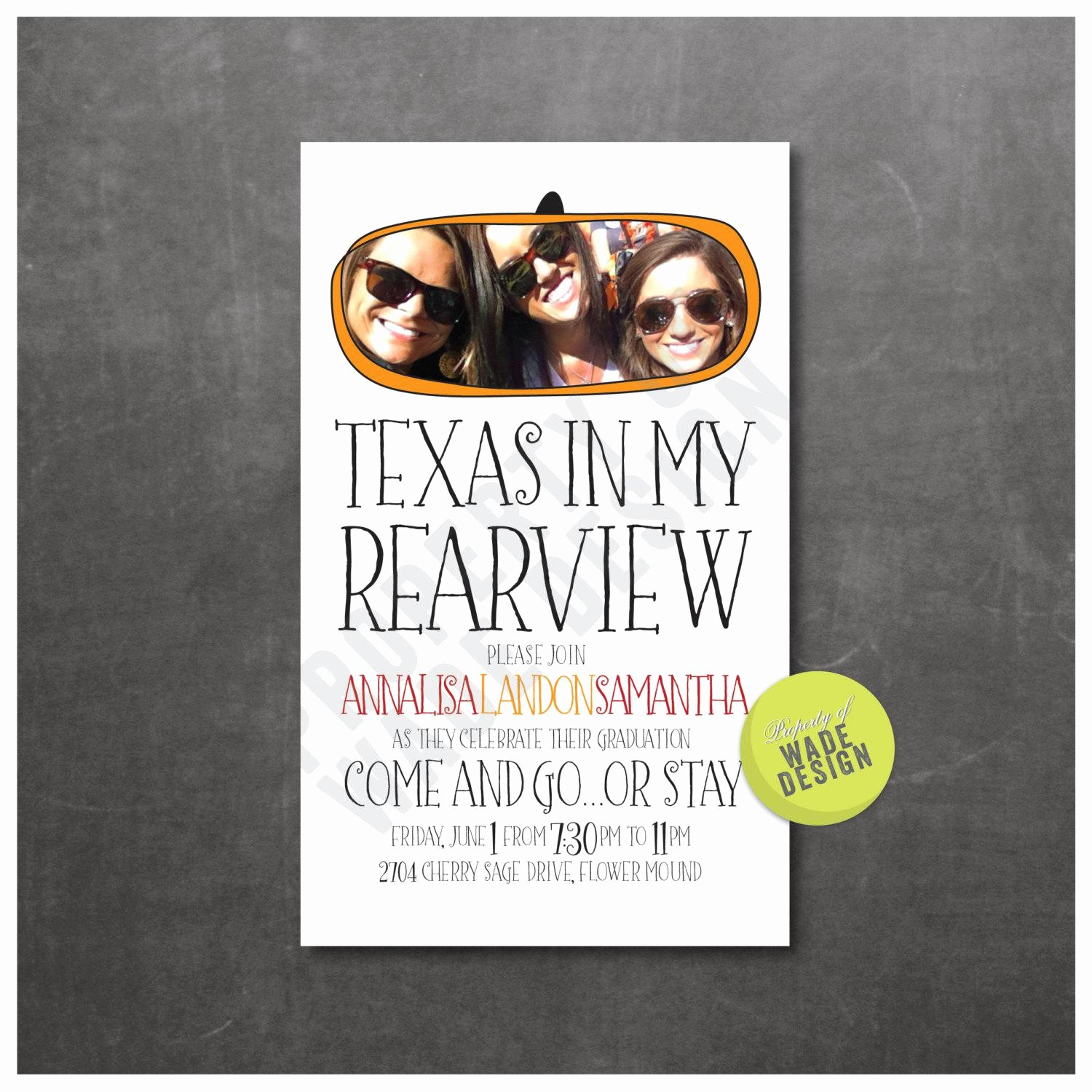 Going Away Flyer Template Free Beautiful Going Away Party Invitations