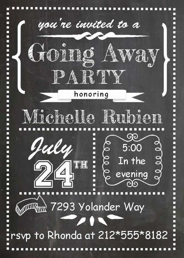 Going Away Flyer Template Free Fresh 70 Party Flyers Psd format Download