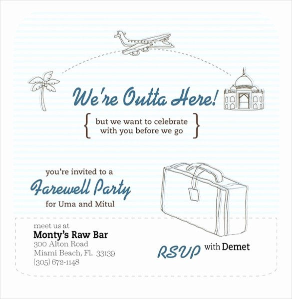 Going Away Flyer Template Free Fresh Farewell Flyer – 13 Free Psd Eps Illustrator format