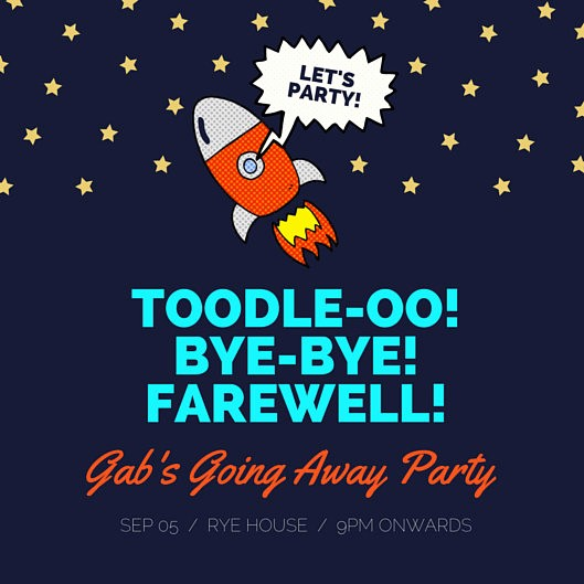 Going Away Flyer Template Free New Farewell Party Invitation Templates Canva