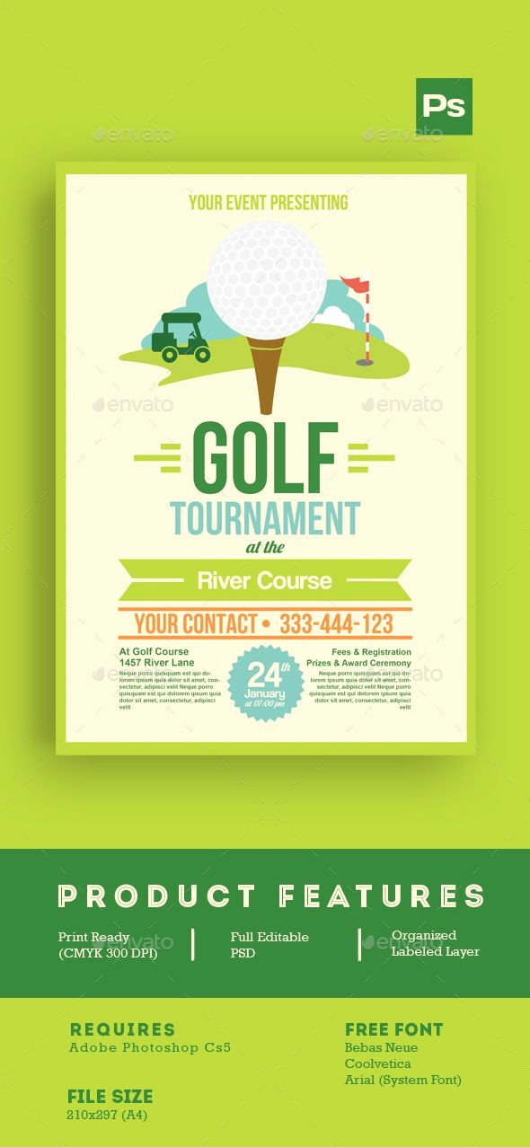 Golf tournament Flyer Template Word Best Of Golf tournament Flyer Template Download 13 Free Word Flyer