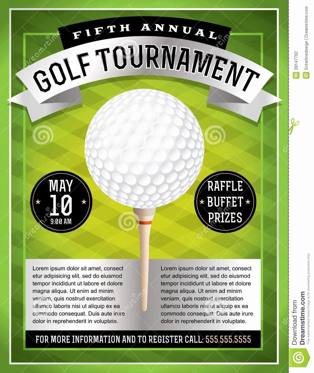 Golf tournament Flyer Template Word Inspirational Golf tournament Flyer Template Beepmunk