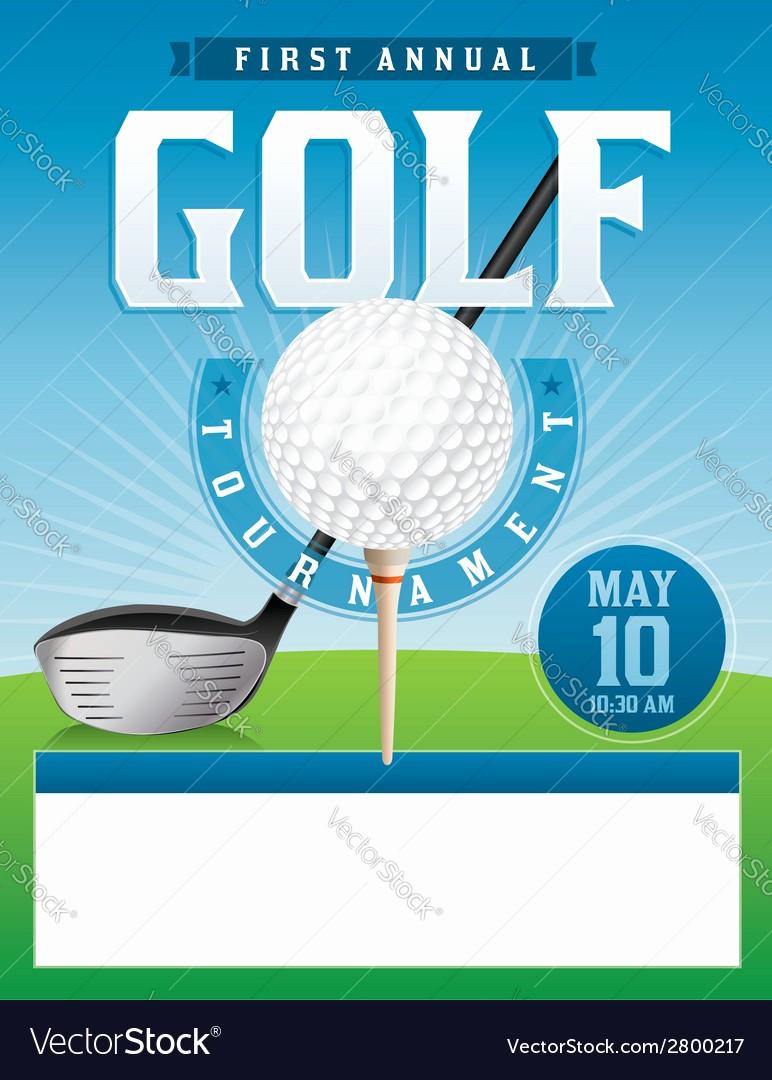 Golf tournament Flyer Template Word Lovely Golf Flyer Template Yourweek 5267f3eca25e