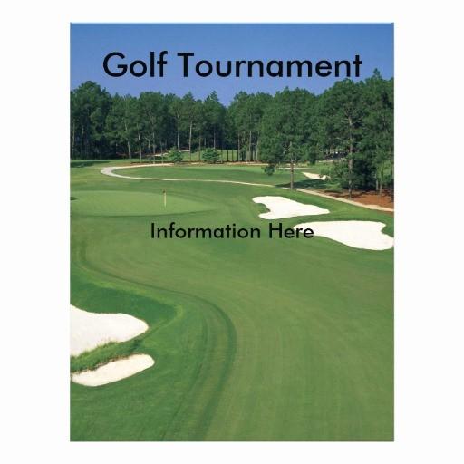 Golf tournament Flyer Template Word Lovely Golf tournament Flyer