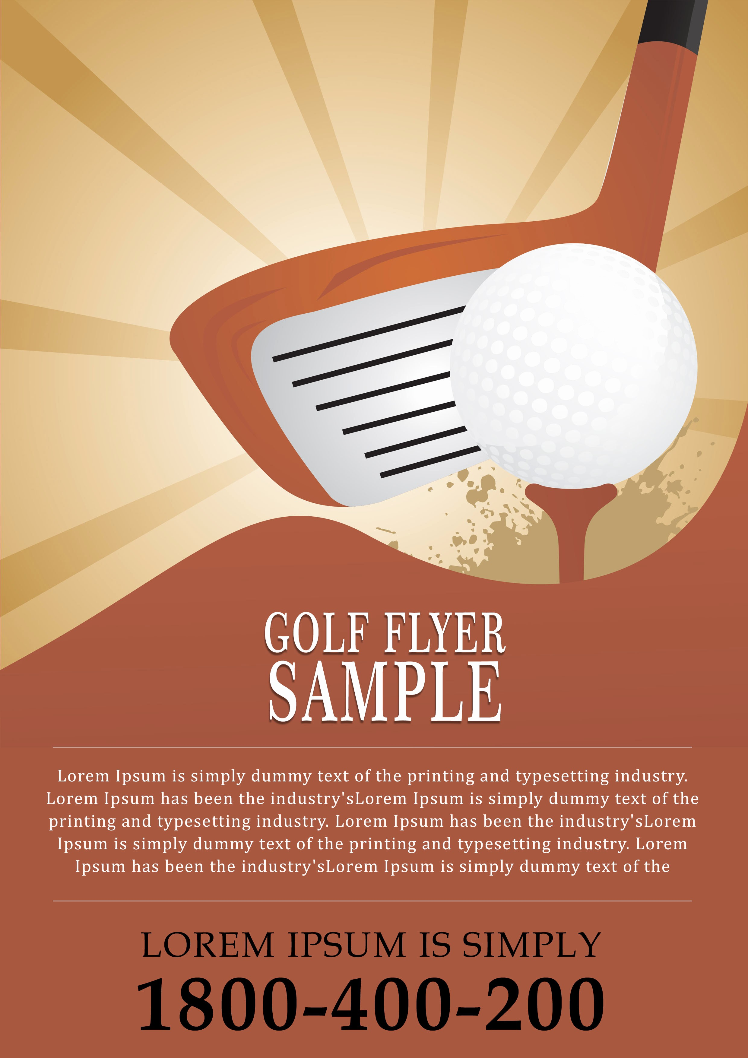 Golf tournament Flyer Template Word Luxury 15 Free Golf tournament Flyer Templates Fundraiser