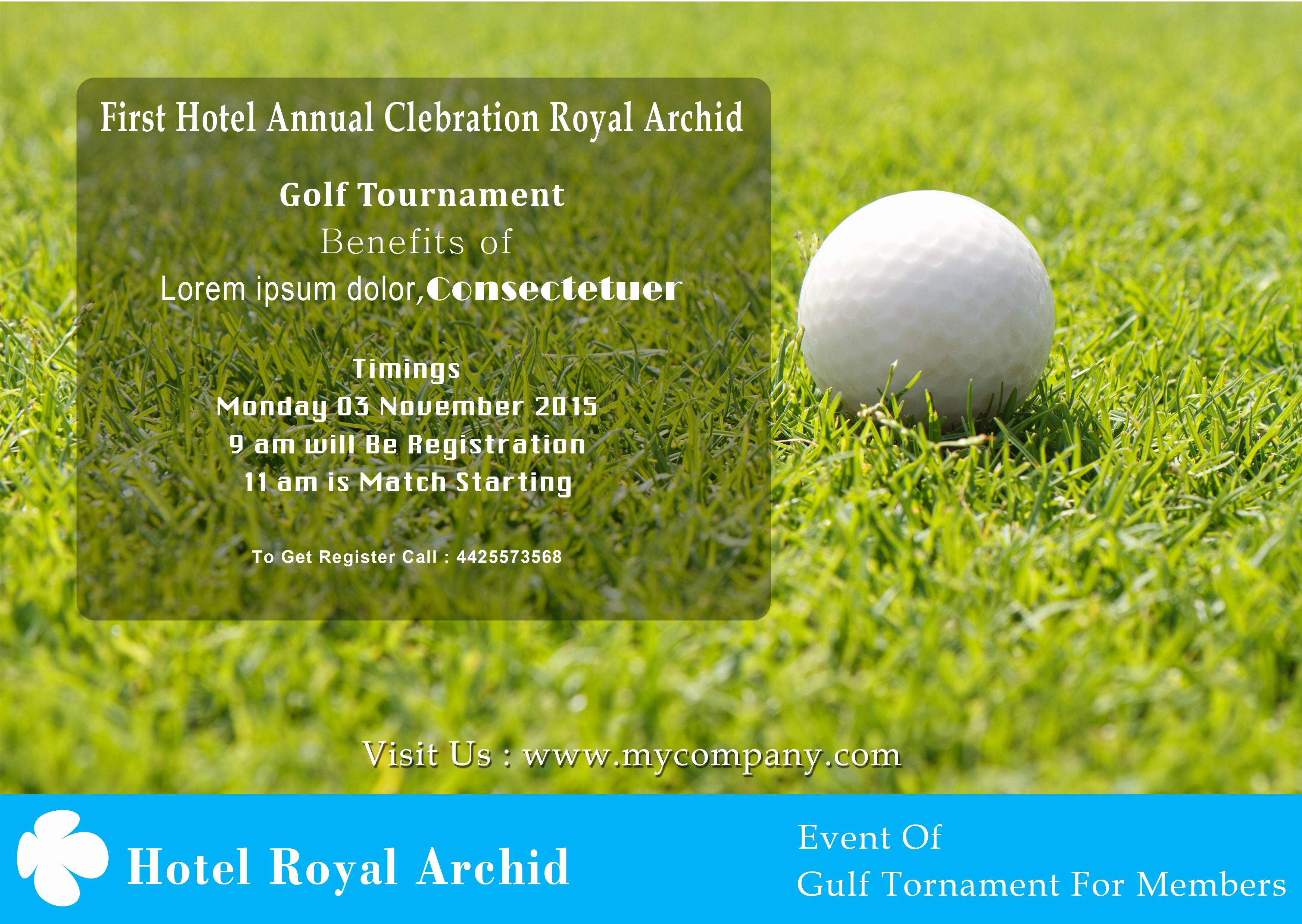 Golf tournament Flyer Template Word Luxury 15 Free Golf tournament Flyer Templates Fundraiser