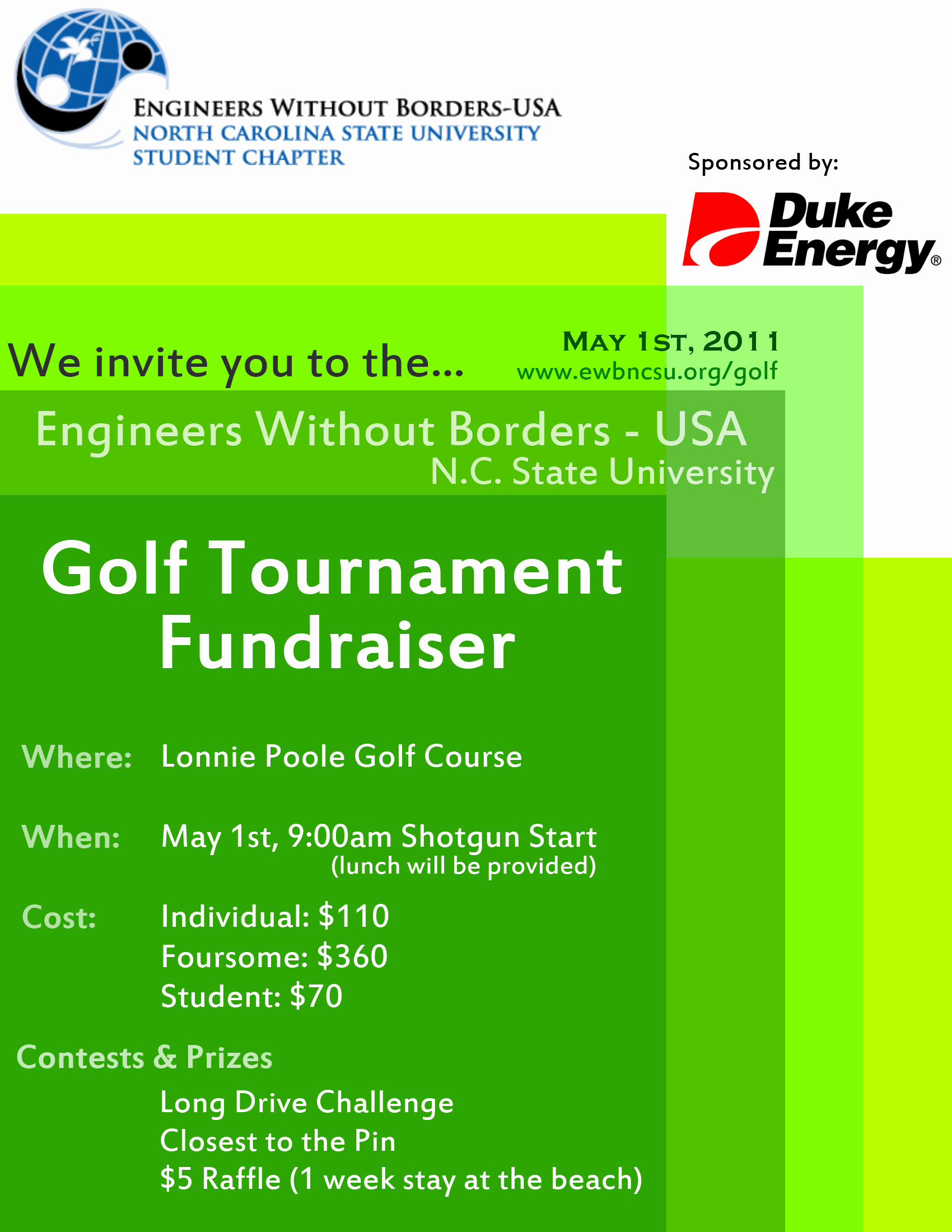 Golf tournament Flyer Template Word Luxury 2011 Golf tournament Flyer – Ewb Usa Nc State Student Chapter