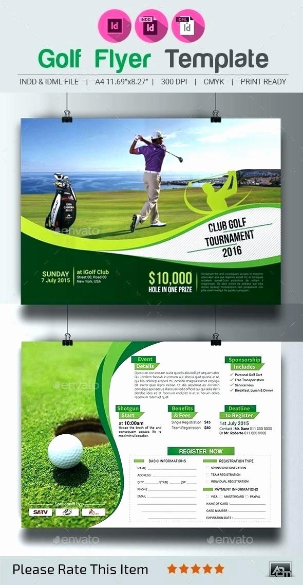 Golf tournament Flyer Template Word New Golf tournament Flyer Template Examples Microsoft Word