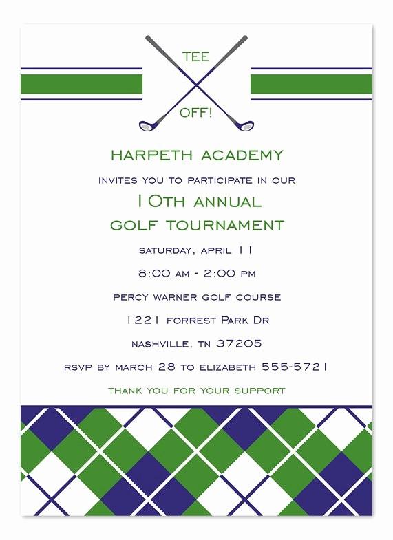 Golf tournament Invitation Template Free Awesome Golf tournament Invitation Templates
