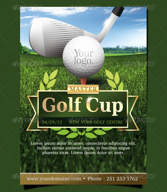 Golf tournament Invitation Template Free Elegant 45 event Flyer Templates Psd Ai Word Eps Vector