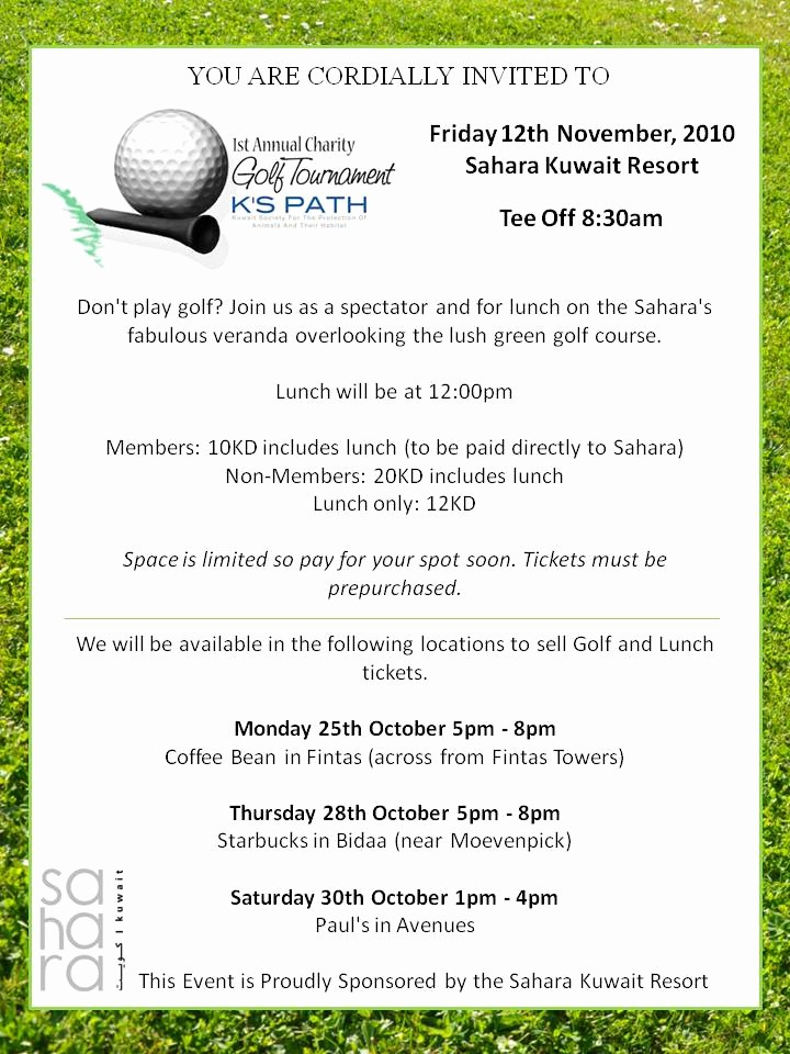 Golf tournament Invitation Template Free Fresh Golf Invitation Template Invitation Template