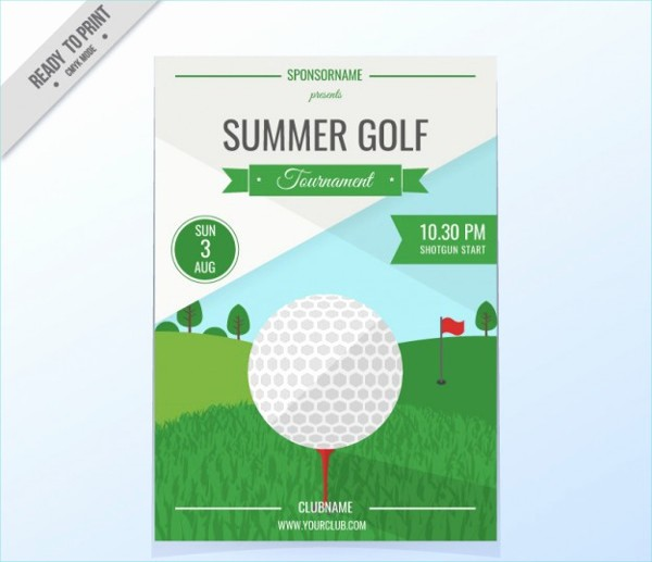Golf tournament Invitation Template Free Inspirational 29 event Poster Designs & Examples Psd Ai Eps Vector