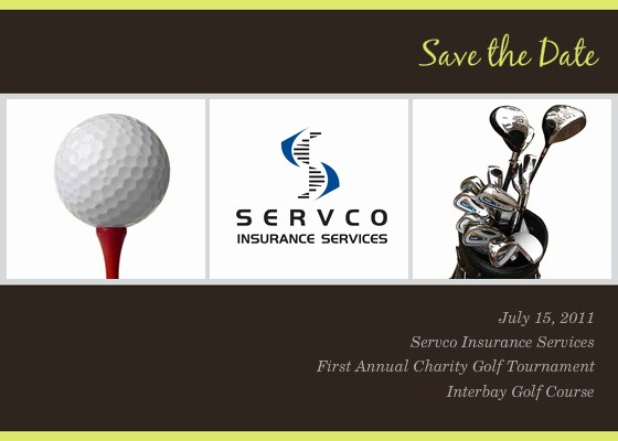 Golf tournament Invitation Template Free Inspirational Servco Charity Golf tournament Line Invitations & Cards