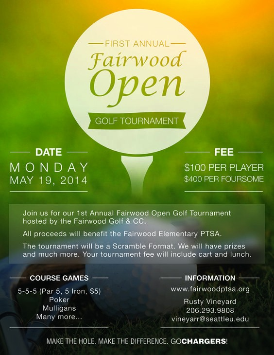 Golf tournament Invitation Template Free Lovely Pinterest • the World's Catalog Of Ideas