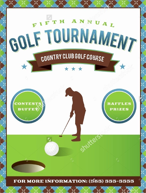 Golf tournament Invitation Template Free New Golf tournament Flyer Template 20 Download In Vector