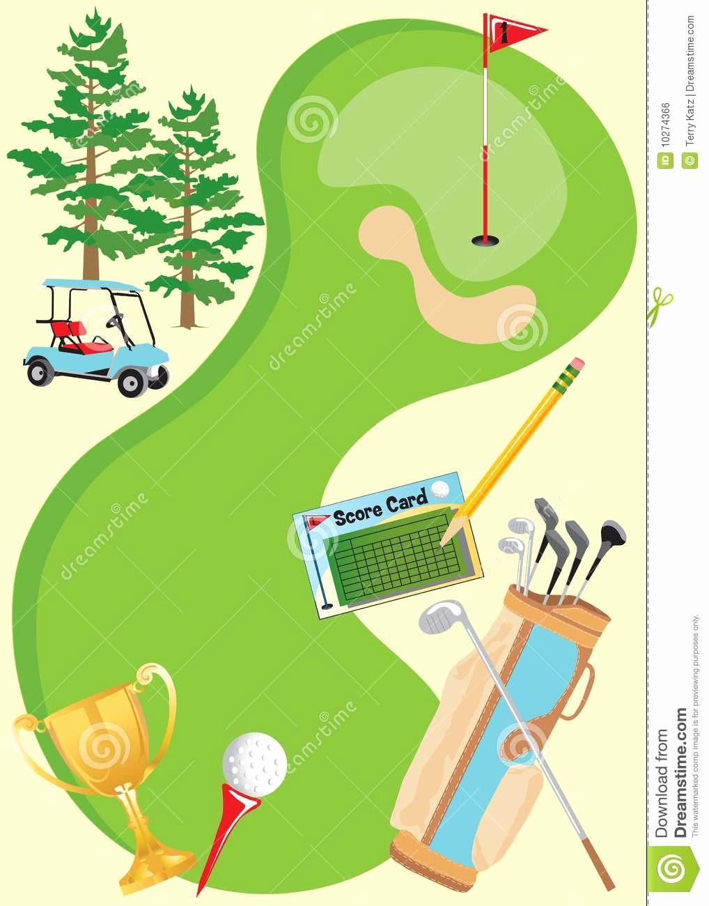 Golf tournament Invitation Template Free Unique Golf Invitation Templates