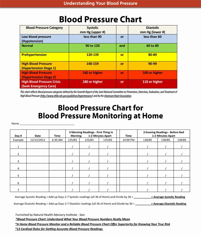 Google Docs Blood Pressure Template Best Of Blood Pressure Chart and Log Templates Ages 2 to 20