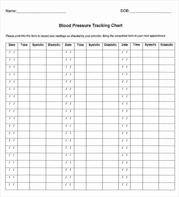Google Docs Blood Pressure Template Fresh Printable Blood Pressure Chart
