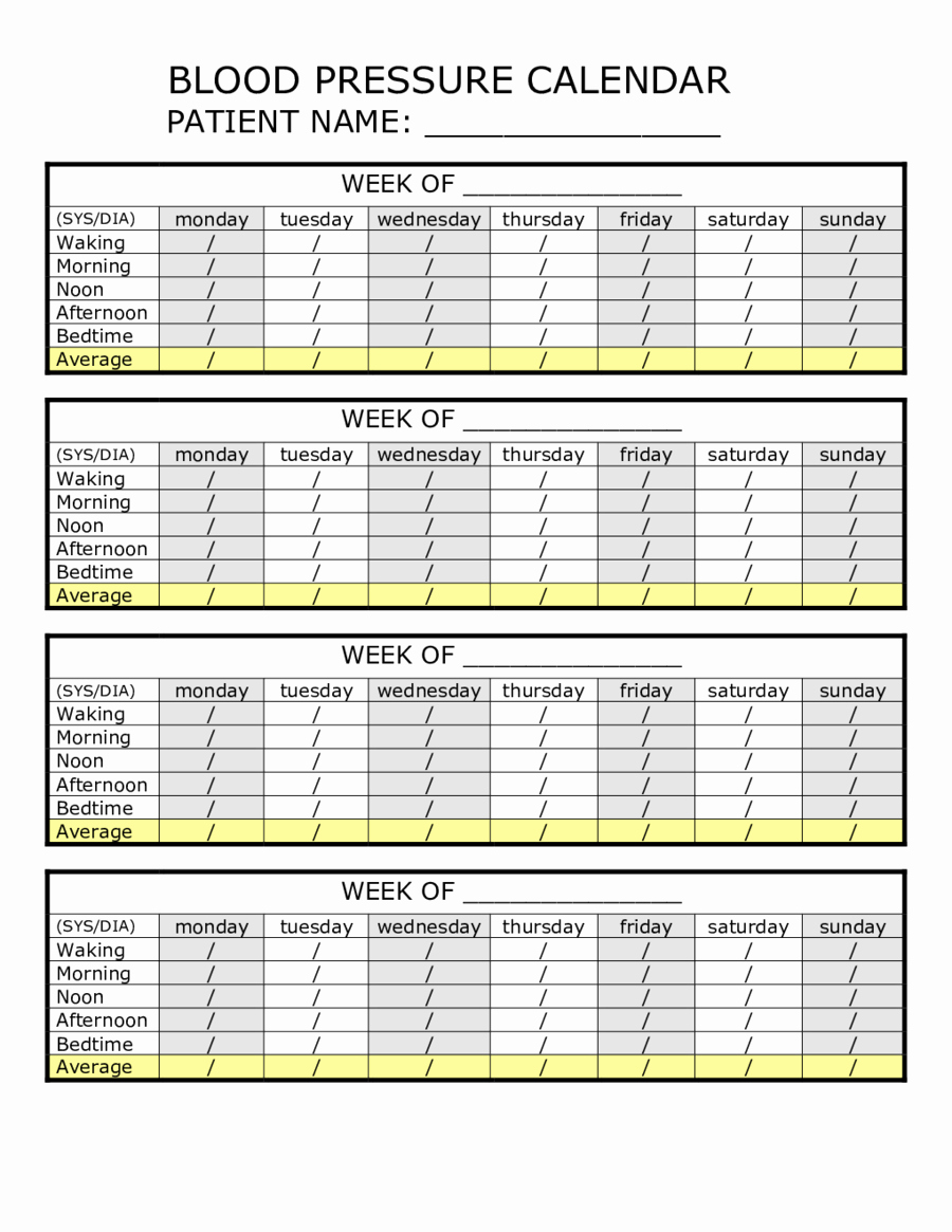 Google Docs Blood Pressure Template Inspirational Blood Pressure Log Printable Healthy Blood Pressure