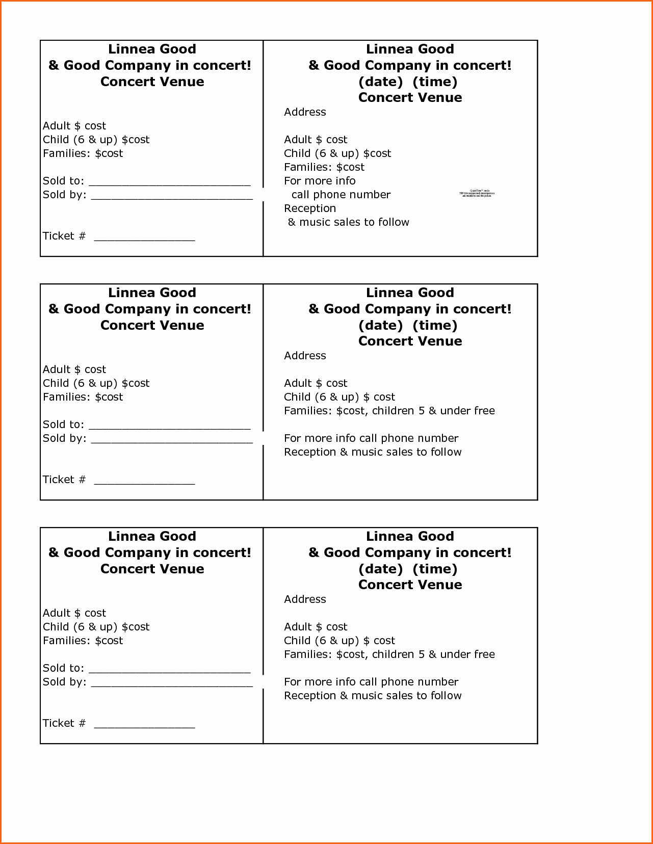 Google Docs event Ticket Template Beautiful Template Raffle Ticket Template
