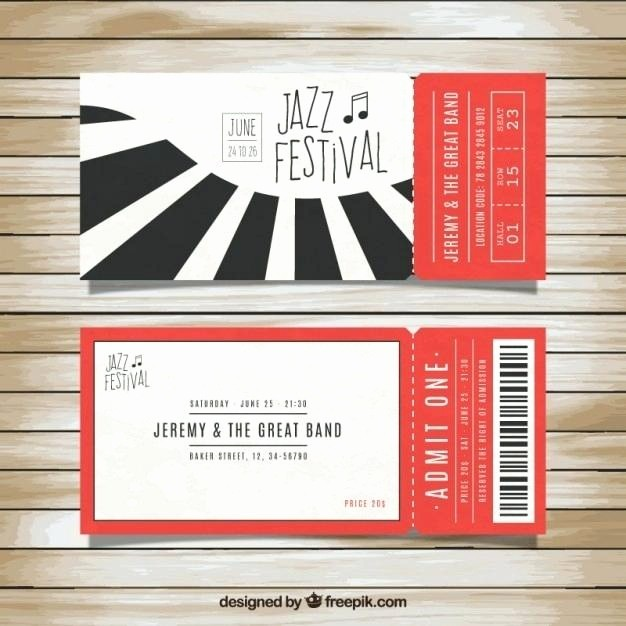 Google Docs event Ticket Template Fresh Movie Ticket Design Template Free Raffle Ticket Templates