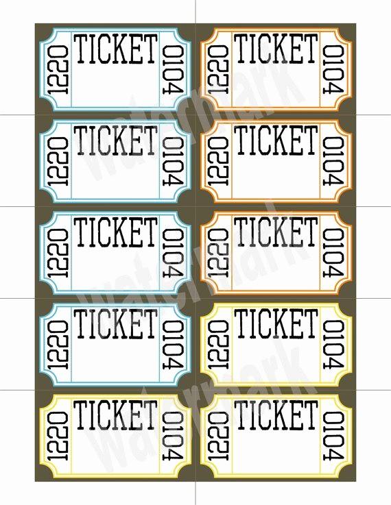 Google Docs event Ticket Template New Ticket Raffle Templates On Google Google Search