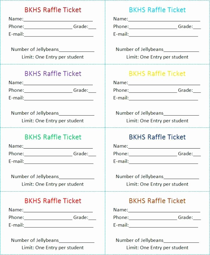 Google Docs event Ticket Template Unique Word Raffle Ticket Template 2 Google Docs Meaning In