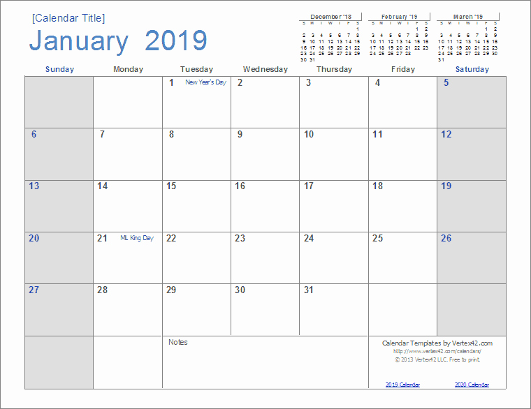 Google Sheets Calendar Template 2019 Awesome 2019 Calendar Templates and