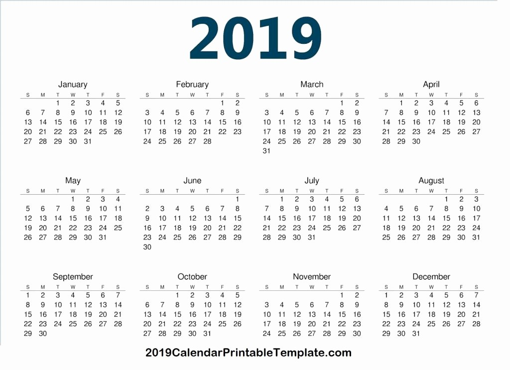 Google Sheets Calendar Template 2019 Beautiful Google Sheets Calendar Template 2019 January 2019 Calendar