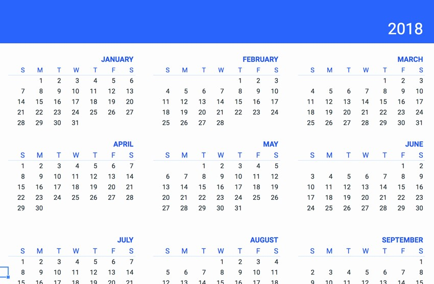 Google Sheets Calendar Template 2019 Inspirational 20 Free Google Sheets Business Templates to Use In 2018