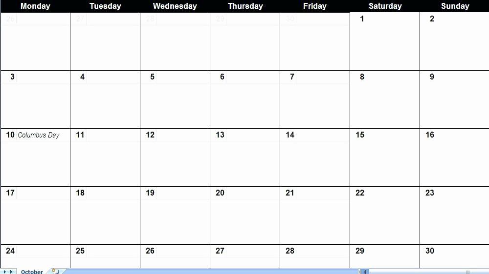 Google Sheets Calendar Template 2019 Inspirational Calendar to Fill In and Print Blank Monthly Template