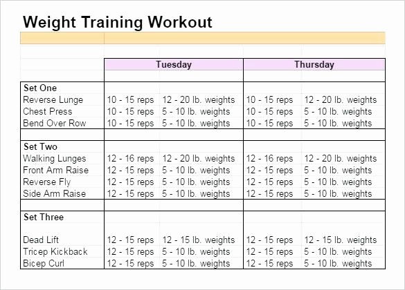 Google Sheets Weight Loss Template Lovely Weight Training Excel Spreadsheet Strength Training