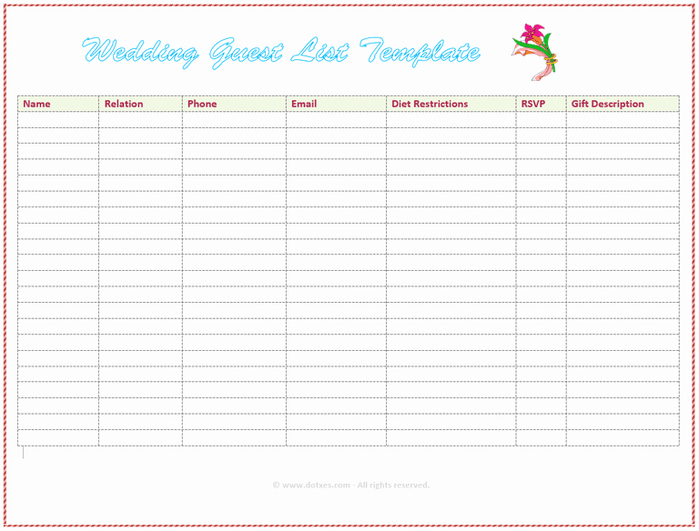 Google to Do List Template Inspirational Google Sheets to Do List Template Wedding Guest List