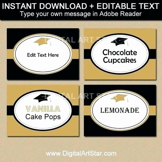 Graduation Address Labels Template Free Unique Cake Labels Template
