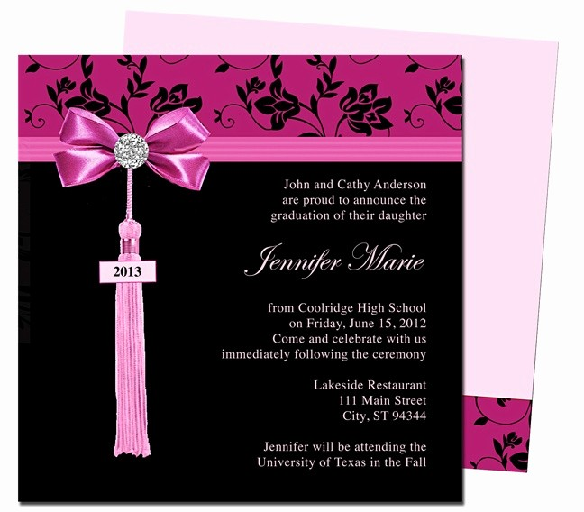 Graduation Party Invitation Template Word Beautiful 1000 Images About Printable Diy Graduation Announcements