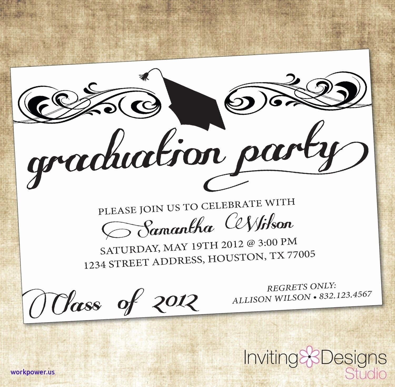 Graduation Party Invitation Template Word Best Of Graduation Party Invitation Templates Microsoft Word Cv