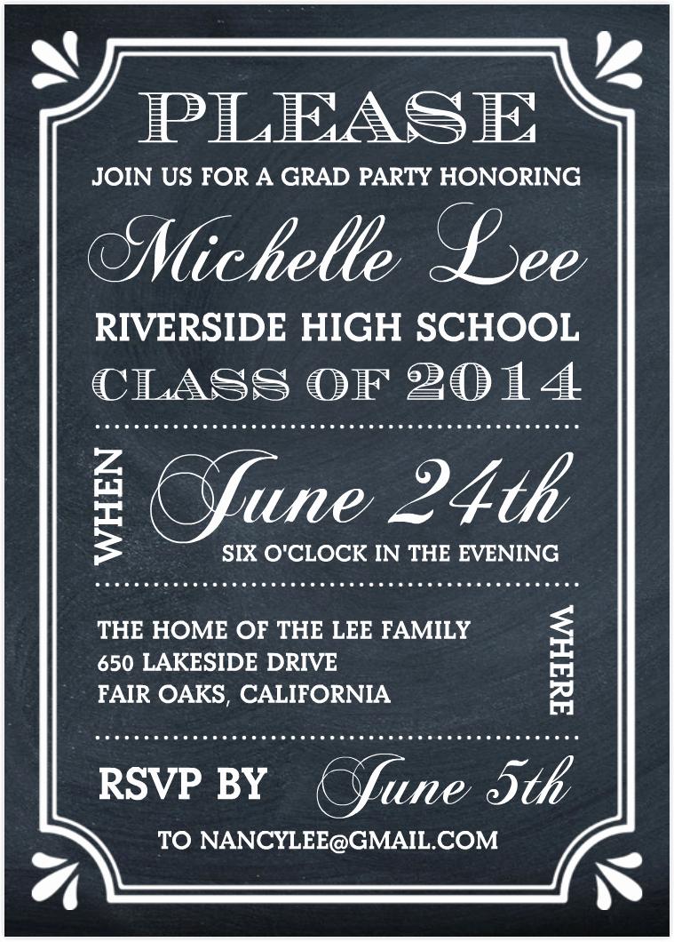 Graduation Party Invitation Template Word Elegant Free Graduation Invitation Templates for Word
