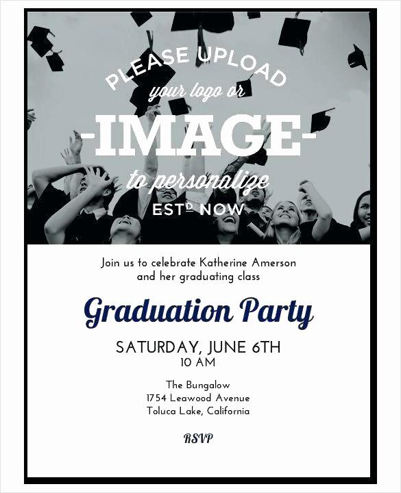 Graduation Party Invitation Template Word Fresh Graduation Party Invitation Templates Free Word Preschool