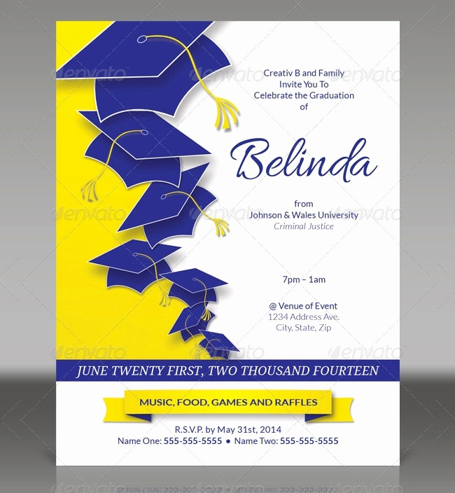 Graduation Program Template Microsoft Word Luxury 19 Graduation Invitation Templates Invitation Templates