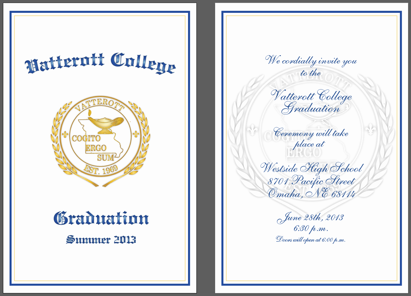 Graduation Program Template Microsoft Word Luxury Preschool Graduation Ceremony Program Sample