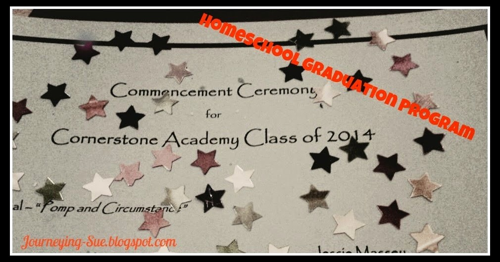 Graduation Program Template Microsoft Word Unique Journeying Sue Homeschool Graduation Program Template
