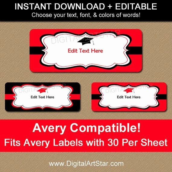Graduation Return Address Labels Templates Inspirational 16 Best Return Address Labels Images On Pinterest