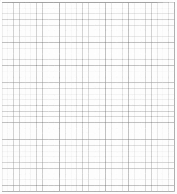 Graph Paper Template for Word Elegant 7 Printable Math Graph Paper Templates